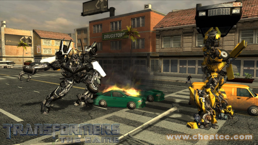 Cheat Transformers The Game Playstation 2
